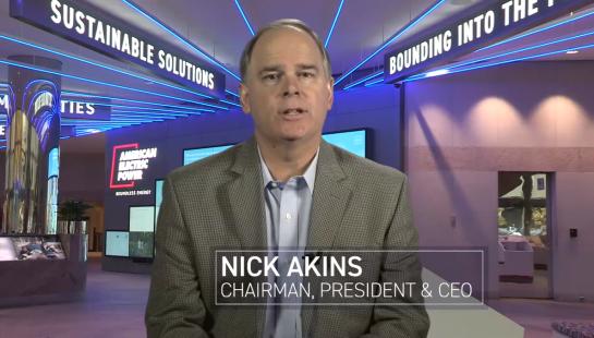 Nick Akins, AEP