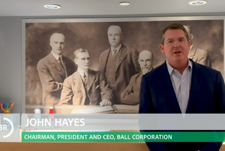 John Hayes, Ball Corporation
