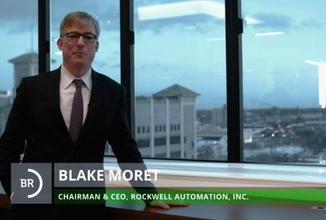 Blake Moret, Rockwell Automation