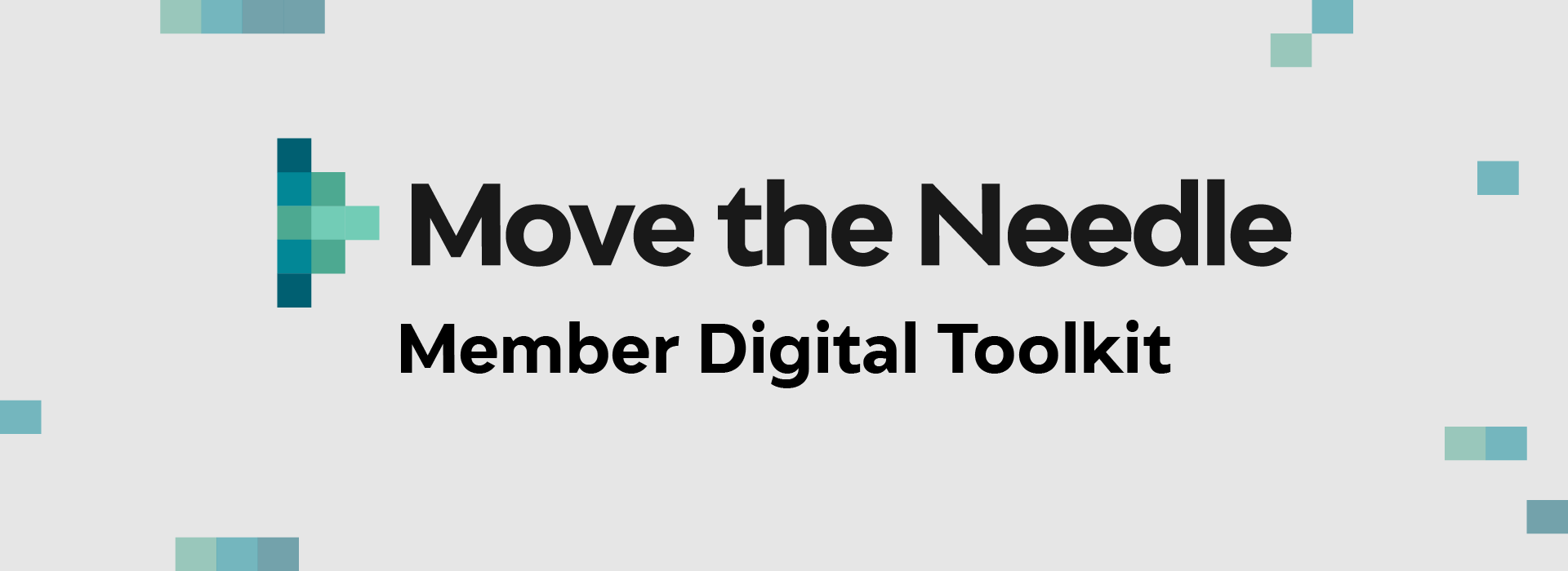 Move the Needle - Digital Toolkit