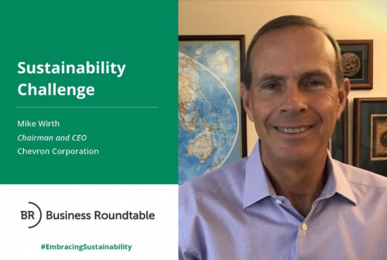 Chevron Corporation Sustainability Challenge