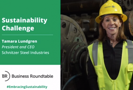 Tamara Lundgren, Schnitzer Steel Industries