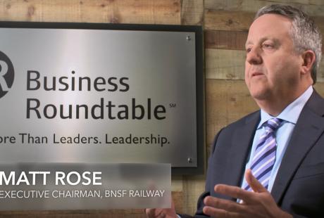 BNSF Executive Chairman Matt Rose on Modernizing America's Infrastructure
