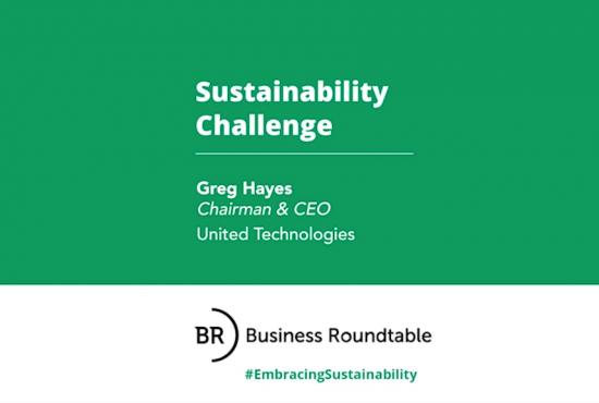 United Technologies Sustainability Challenge