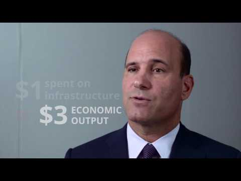The Benefits of Infrastructure Investment: AECOM CEO Michael Burke