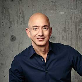 Jeff Bezos, Founder, Chairman, CEO and President, Amazon, Founder, Chairman, CEO and President, Amazon