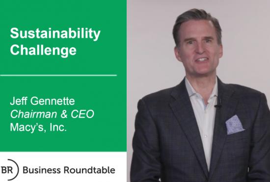 Macy's Sustainability Challenge