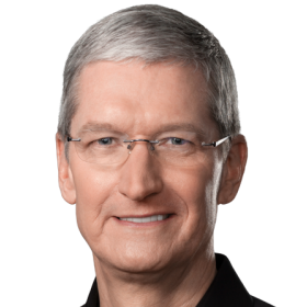 Tim Cook, Chief Executive Officer, Apple, Inc., Chief Executive Officer, Apple, Inc.