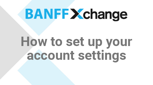 Thumbnail of Seting Up Your Account Settings