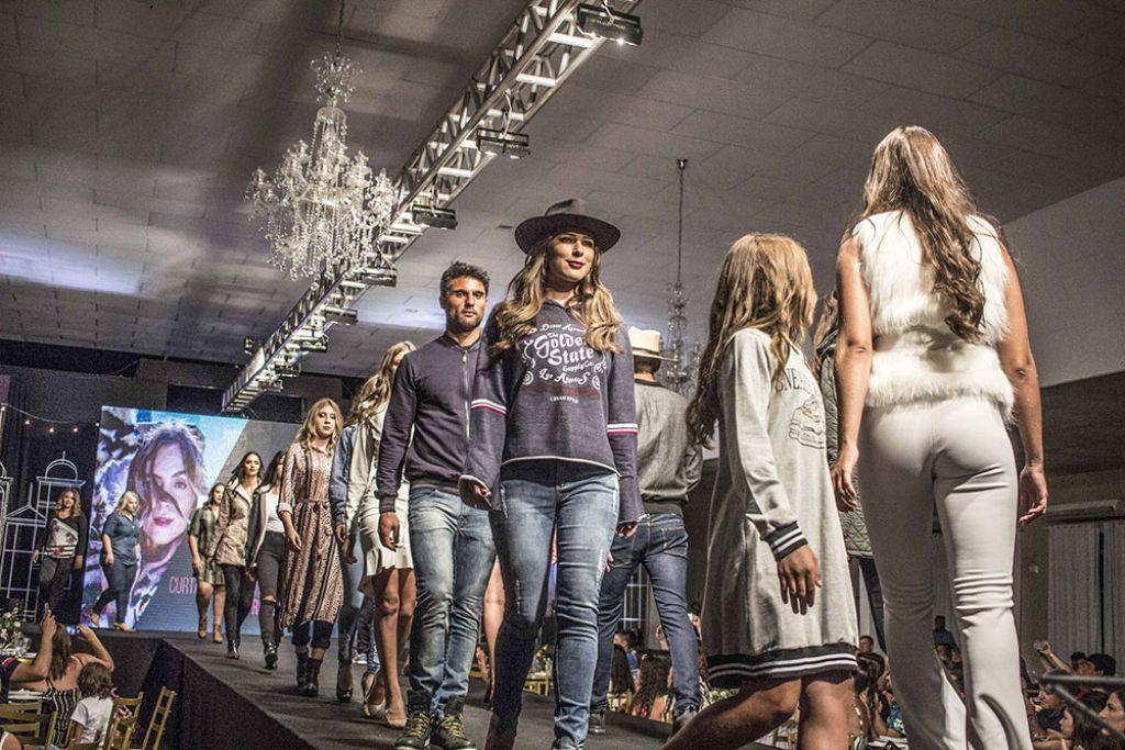 1c8ccbd25f Metrópole norte-americana foi a inspiração para o Desfile de Moda desta  edição da rodada que apresentou a coleção Inverno 2019