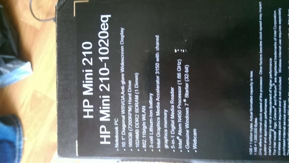 Vand Netbook Hp Mini 210