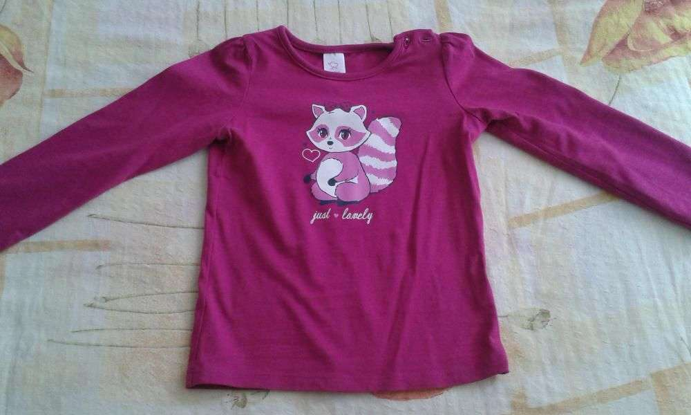 Bluza Pink Cu Veverita C&A 92
