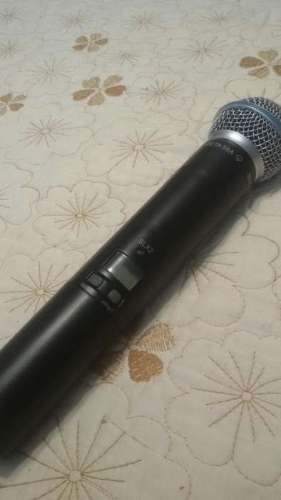 Microfon Wireless Shure Beta 58 A Slx2