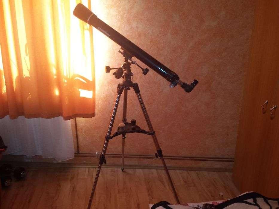Telescop Celestron Astro Master 70 Eq +barlow Lens 2x