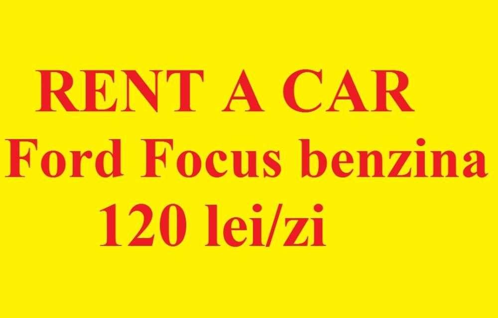 Rent A Car, Inchirieri Auto, Ford Focus Benzina