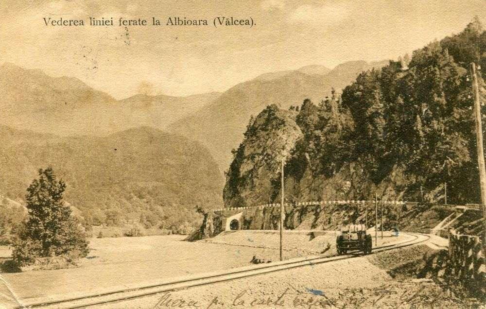 Carte Postala Cu Vederea Caii Ferate La Albita, Valcea