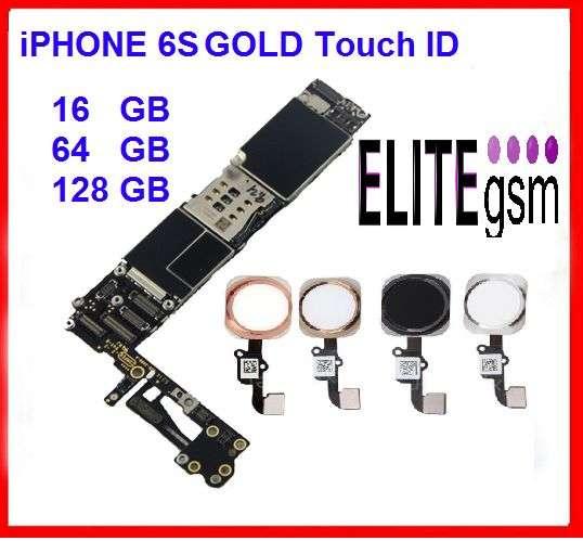 EliteGSM-Placa De Baza IPhone 6S 16/64/ 128GB Neverlock Fara ICloud+BU