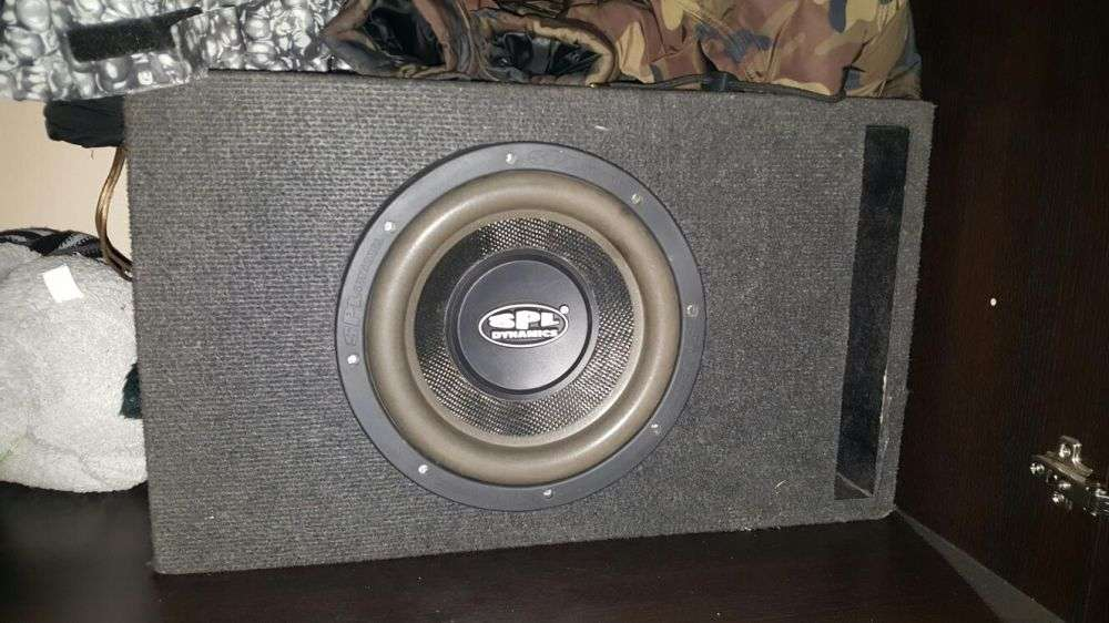 Vand Pachet Subwoofer+statie 750w Rms