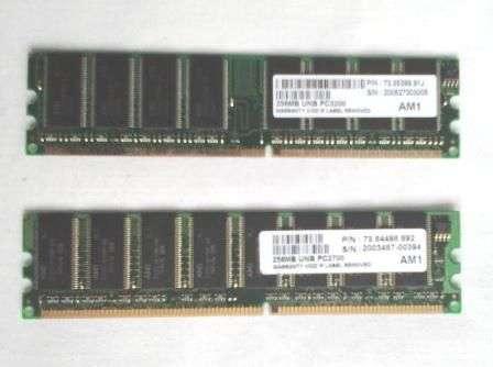 Kit 2 Memorii DIMM 2x256M PC3200