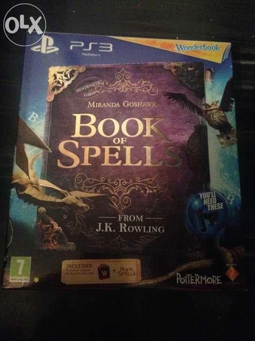 Wonderbook - Book Of Spells Ps 3.