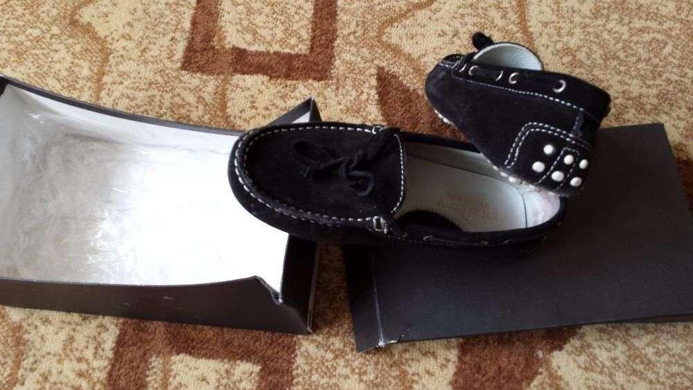 Pantofi Catifea Negru Copii 30 /32 ZARA ITALY Purtat 1 Zi