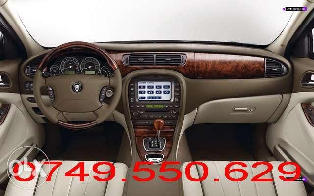 JAGUAR DENSO Harta Navigatie 2014 DVD Jaguar S-TYPE X-TYPE XJ