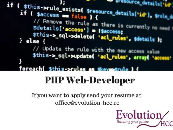 Senior PHP Web-developer