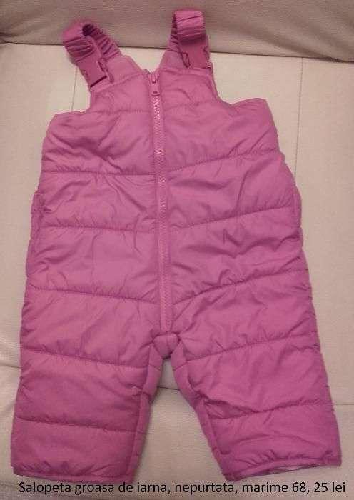 Pantaloni, Trening, Salopeta Iarna Bebe / Copii