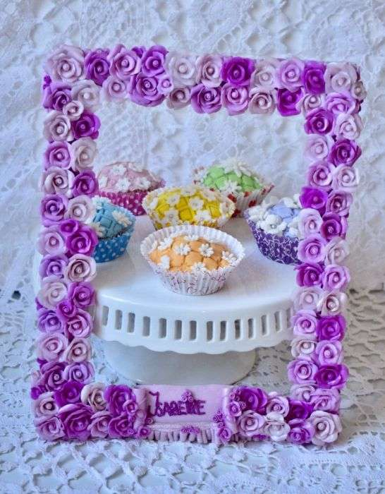 Brioșe Decorate Manual Cu Pastă De Zahar