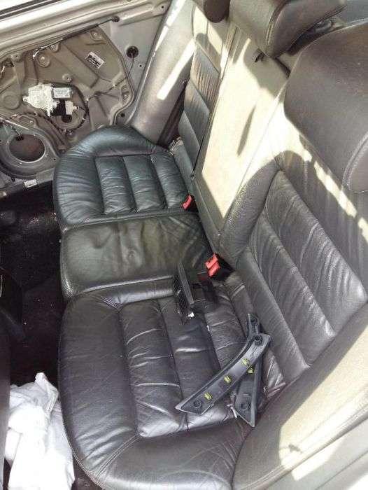 Interior/scaune Din Piele Skoda Octavia 2 Electrice Si Incalzite