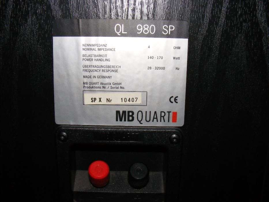 MB Quart QL 980 SP