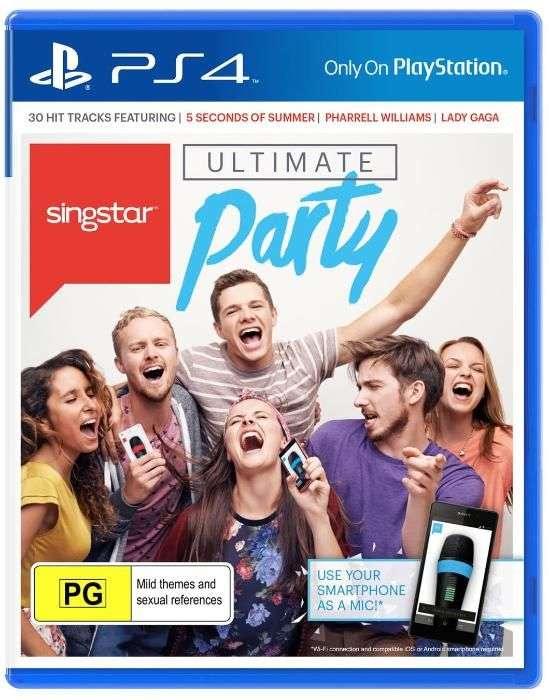 SingStar Ultimate Party PS4 PlayStation 4 (SIGILAT)