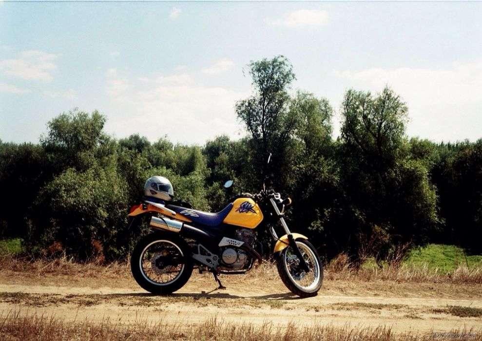Motocicleta Honda SLR 650 Motor Dominator
