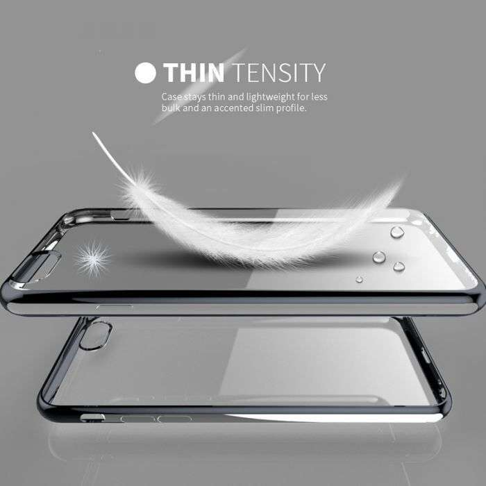 Husa/carcasa Slim/subtire Plus Folie Sticla Securizata IPhone 6,6s
