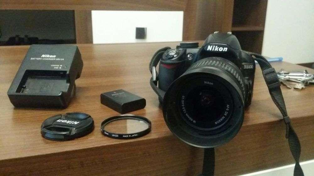 Nikon D3100 + VR 18-55 + 2 Acumulatori + Card 8gb Sony
