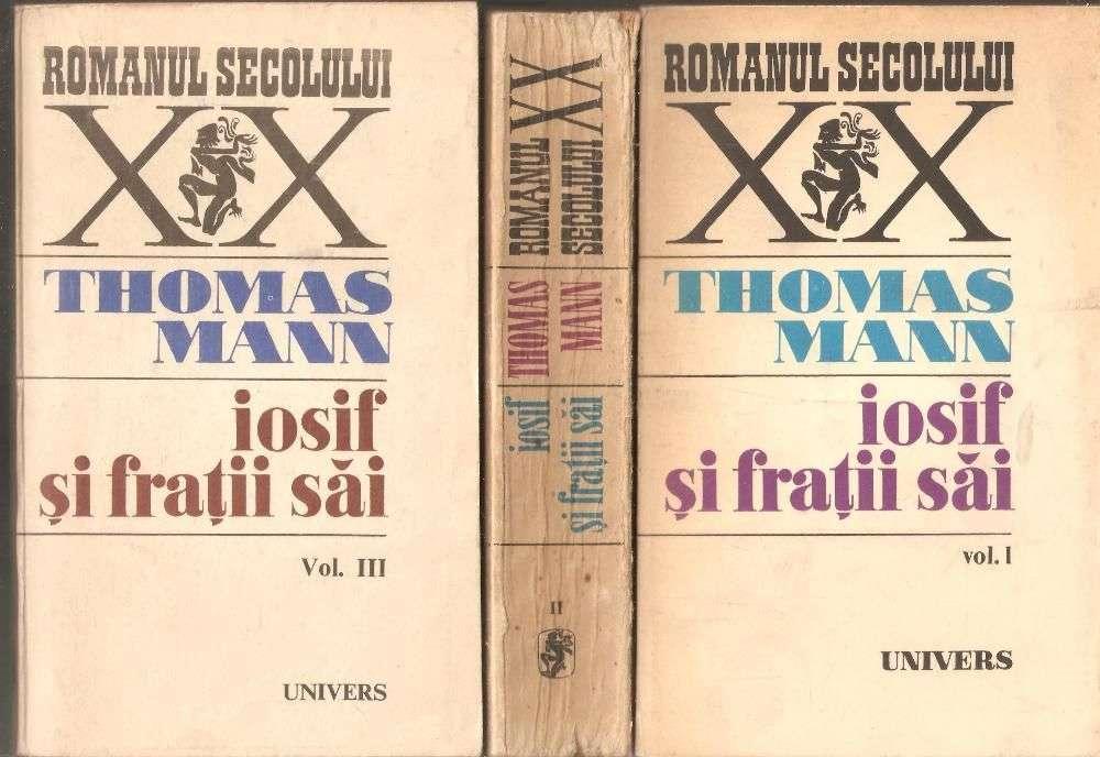 Thomas Mann-Iosif Si Fratii Sai 3 Vol.