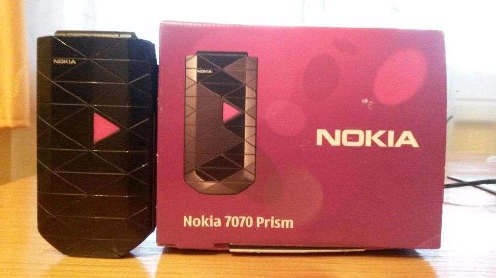 Nokia 7070 Prism,cadou Perfect Pentru Bunici, Transport Gratuit !