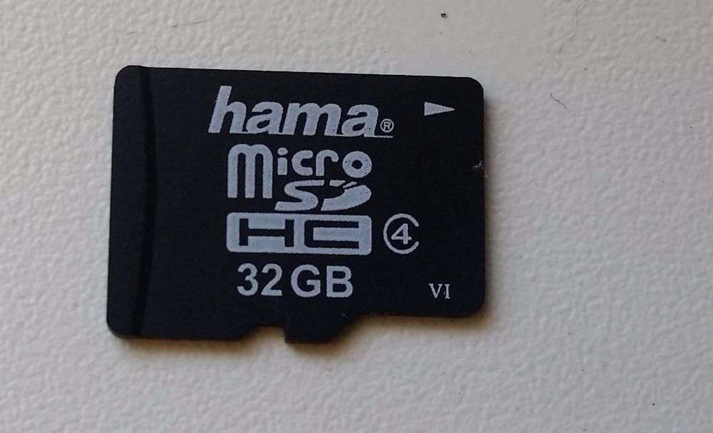 Vand Card Micro Sd Hama 32Gb