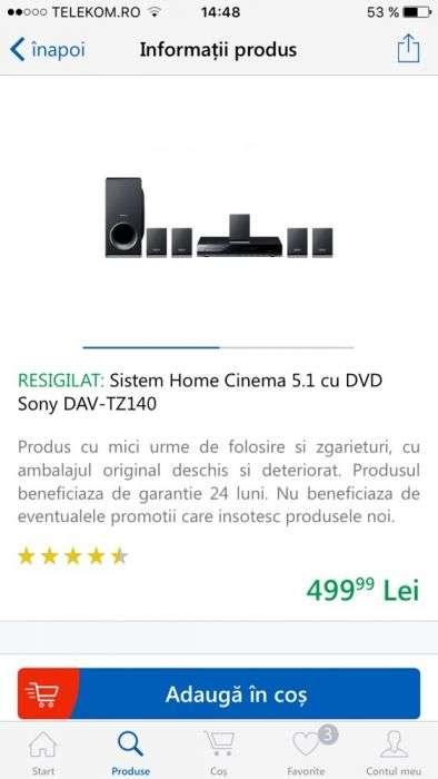 Sony Home Cinema 5.1