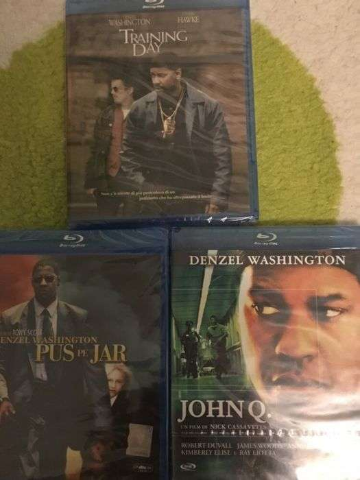 Colectie Filme Blu Ray Denzel Washington Originale/Sigilate
