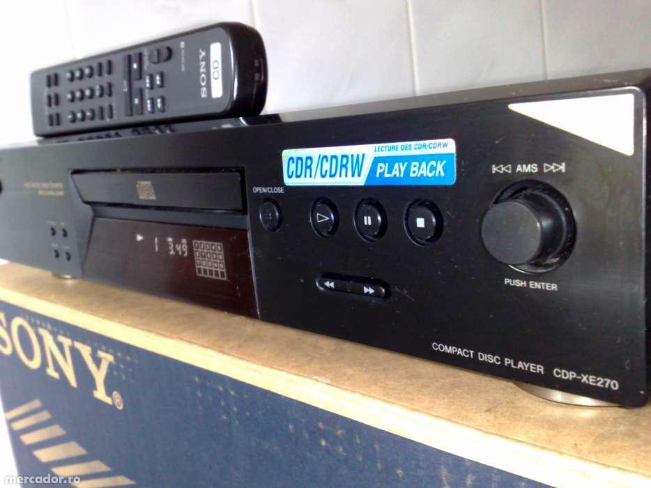 CD Player Sony XE 270
