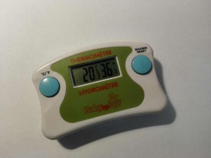 Termometru Cu Hidrometru Pentru Camera Bebe