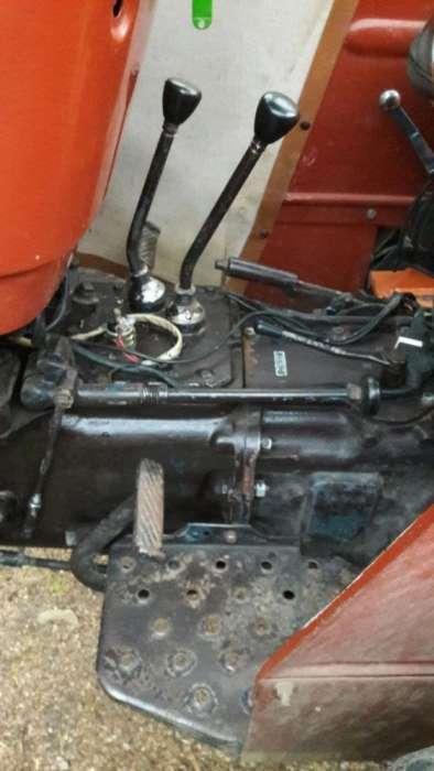Tractor Fiat 550.