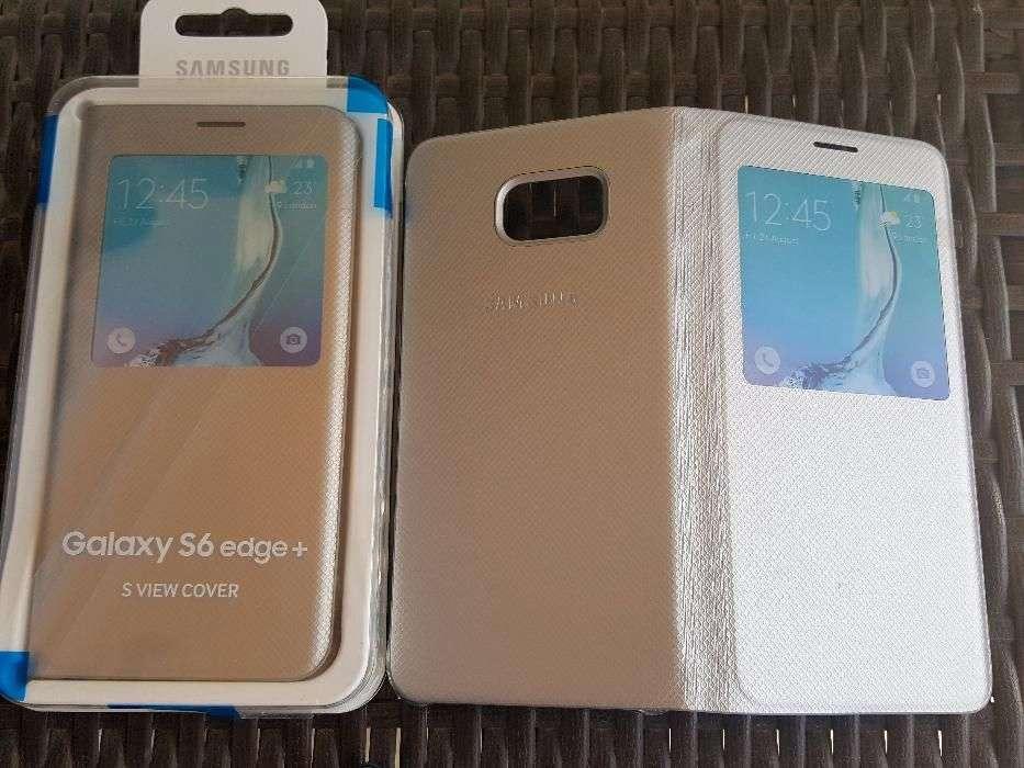 Husa S-VIEW Activa SAMSUNG Galaxy S6 Edge Plus Noua ORIGINALA Vietnam