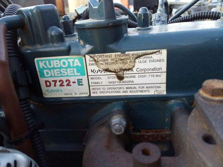Motor Kubota D 722-E