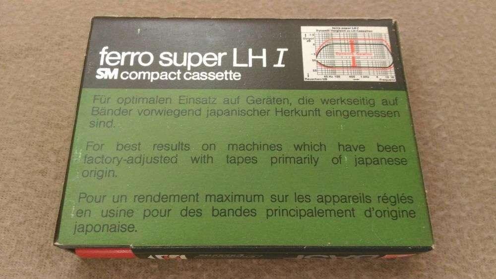 caseta audio sigilata basf ferro super lh i 90 in c box in oradea