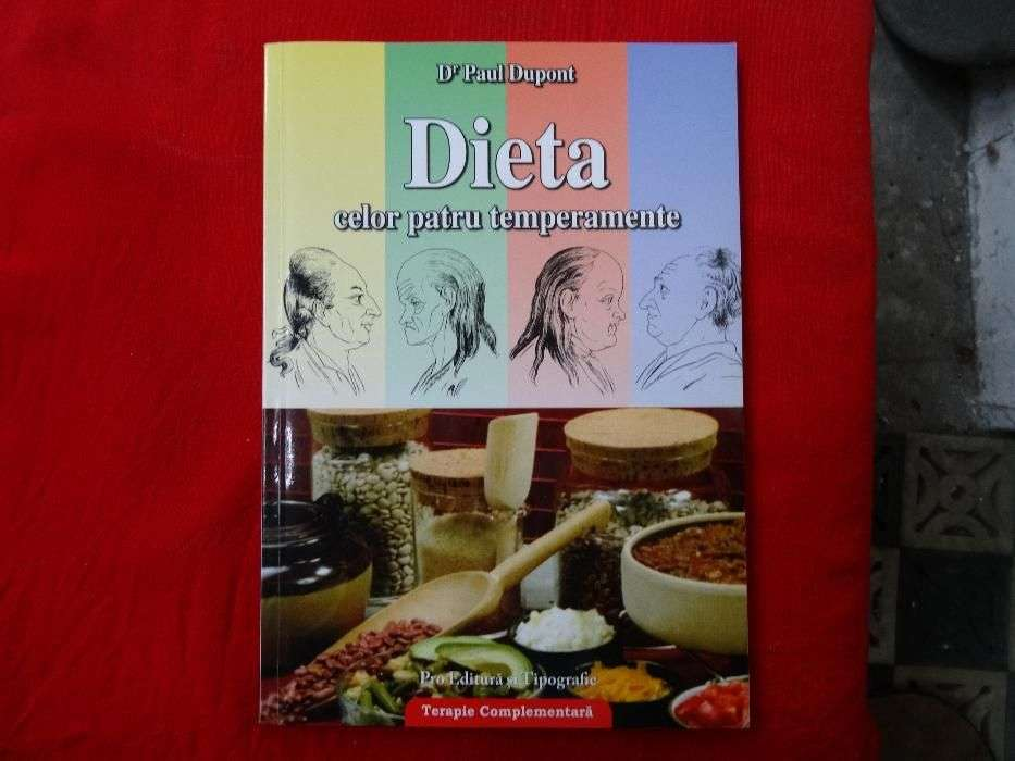 Dieta Celor Patru Temperamente-Dr. Paul Dupont
