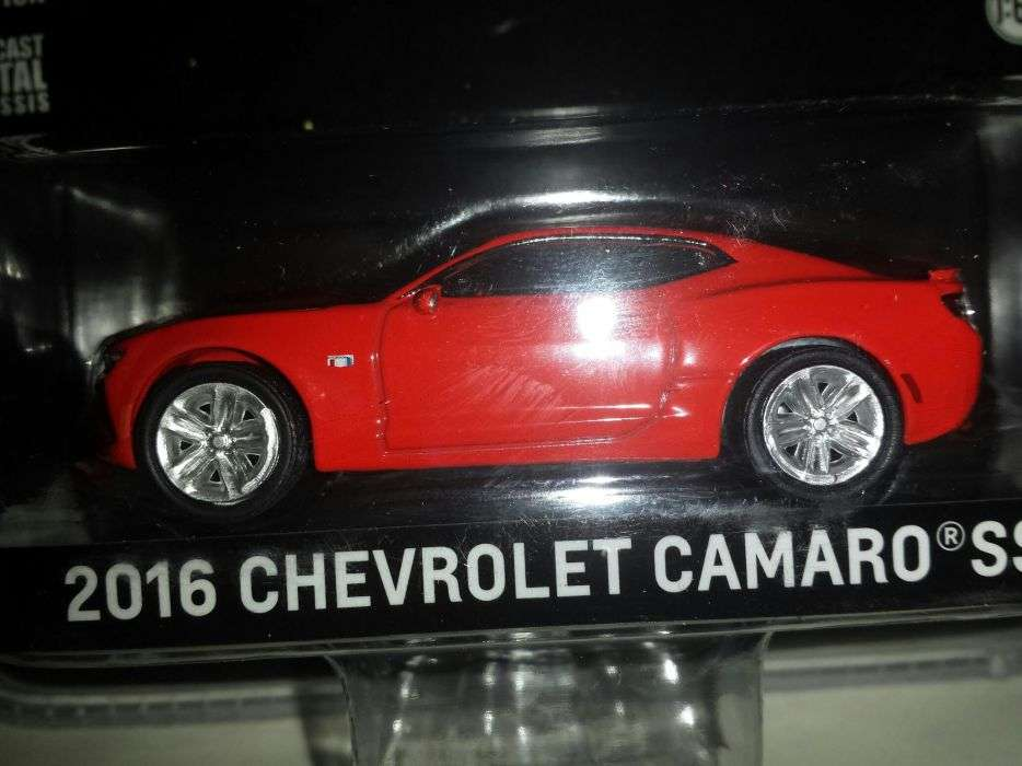Macheta-Greenlight-2016 Chevrolet Camaro SS, Scara 1/64