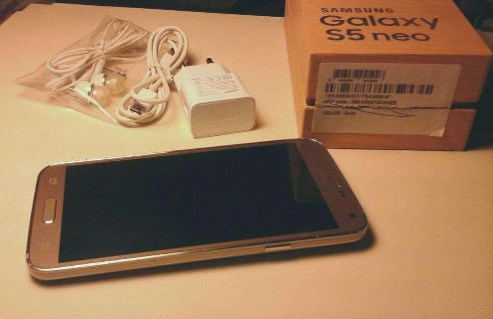 Samsung Galaxy S5 Neo Gold Neverlock