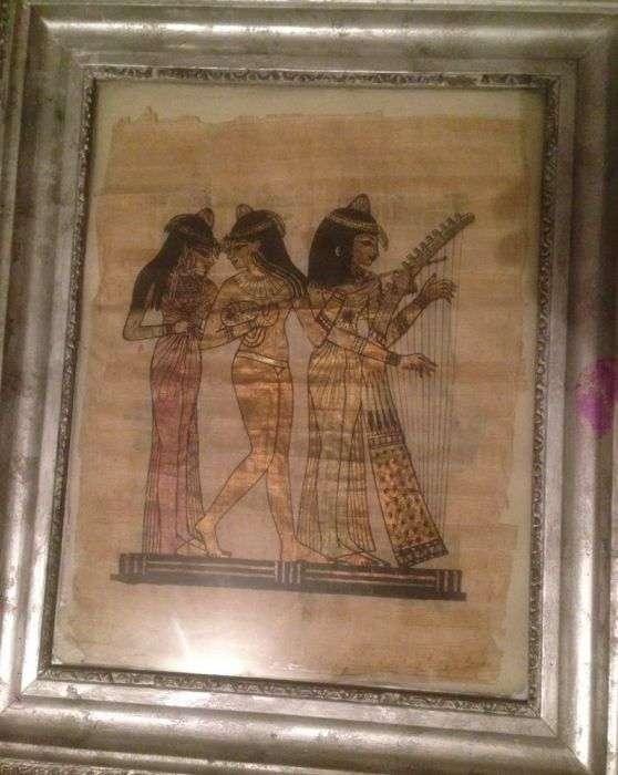 Pictura Pe Papirus